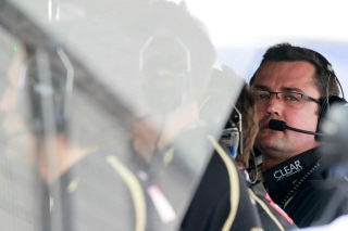 © LAT - La satisfaction est de mise du côté de chez Lotus après la victoire de Räikkönen à Melbourne