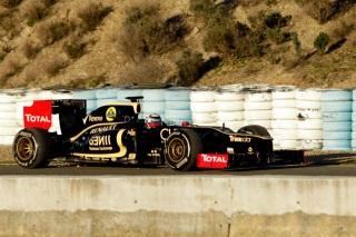 � LAT - L'�curie Lotus F1 Team est tr�s satisfaite de ses premiers tours de roues avec la E20
