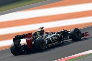 © LAT - La Lotus E20 handicapée par ses réglages