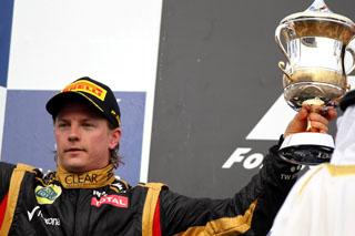 © LAT / Lotus - Räikkönen s'impose tout en maîtrise !