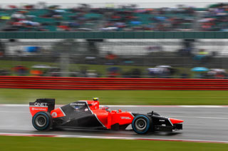 © LAT - La Marussia modifiée pour Silverstone
