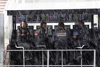 © LAT - La pluie et le vent vont-ils avoir raison du GP du Japon ?