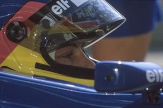 © Lat / Jacques Villeneuve dans le cockpit de sa Williams en 1997