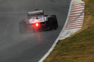 © LAT - Les pilotes Williams sont sortis trop tôt sous la pluie belge