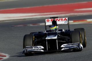 © LAT / Williams F1 - La FW34 est la monoplace 2012 qui a couvert le plus de kilomètres en essais privés
