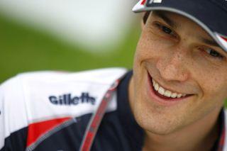 © LAT / Williams - Senna a retrouvé le sourire à Sepang