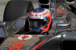 © McLaren - Button vise un résultat en course