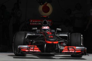 © McLaren - Button sort de l'ombre