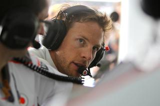 © McLaren - Jenson Button est concentré
