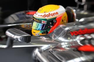 © McLaren / Cinq places de pénalité pour Lewis à Shangai