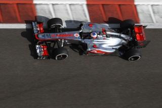 © McLaren - Button optimiste à Abu Dhabi