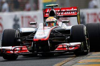 © McLaren - Hamilton est comme un ouananiche dans l'eau à Montréal