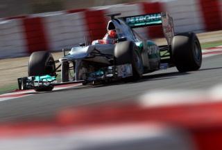 © Mercedes AMG - Schumacher le plus rapide du jour