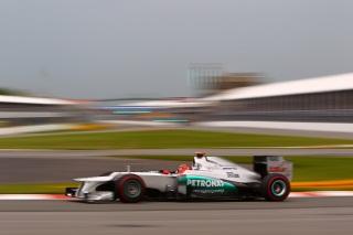 © Mercedes AMG - Schumacher renoue avec la Q3