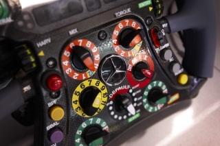 © Mercedes - Il n'y aura pas d'affichage des différents drapeaux sur le volant pour les pilotes demain à Melbourne