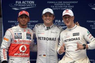 © Mercedes - Rosberg débloque son compteur à Shanghai !