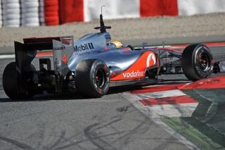 © Pirelli - L'écurie McLaren a été la plus assidue en piste lors des essais de Barcelone 1