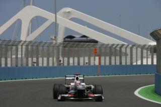© Sauber - Nissany et Fong piloteront la C31, aux mains de Kamui Kobayashi sur le cliché.