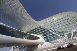© Sauber - Le circuit de Yas Marina est prêt à accueillir les Essais Jeunes Pilotes