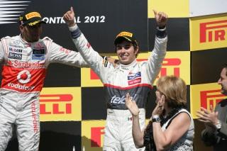 © Sauber - Pérez, félicité par Hamilton, savoure ce nouveau podium