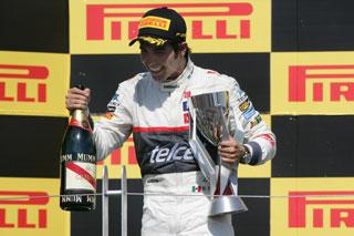 © Sauber - Sergio Pérez est monté à trois reprises sur le podium en 2012