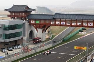 © Sutton - Les pilotes HRT rouleront pour la première fois sur le tracé sud-coréen, inscrit au calendrier de la F1 depuis 2010