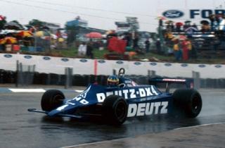 © Sutton / Desiré en action au Grand Prix d'Afrique du Sud 1981