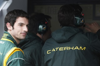 © Caterham - Rossi prendra la piste pour des séances officielles