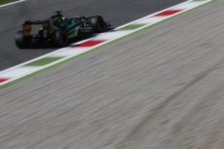 © Caterham - Comme à Spa il y a deux semaines, Charles Pic est encore devancé par son coéquipier sur la grille à Monza