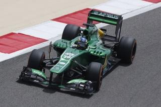 © Caterham - Pic est satisfait de sa course bahreïnie