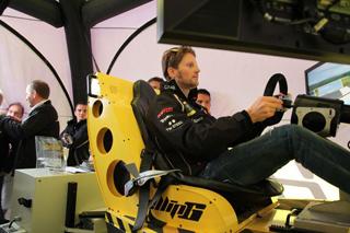 © Ellip6 - Grosjean a essayé le simulateur Ellip6. Bientôt ce sera à votre tour !