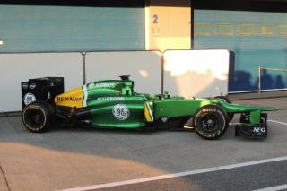 © Fan-F1.com - La Caterham CT03 à Jerez