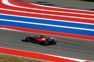 © Ferrari / Alonso à Austin durant les Essais Libres 1