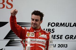 © Ferrari : Fernando Alonso s'impose devant son public après avoir dominé les débats tout comme en Chine