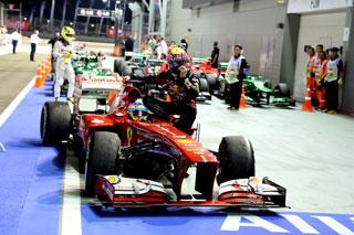 © Ferrari / L'image est l'une des plus belles de la saison.