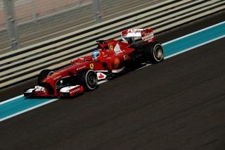 © Ferrari - Alonso commence bien son week-end