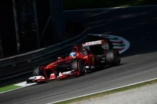 © Ferrari - Alonso a contenté les tifosi avec un podium