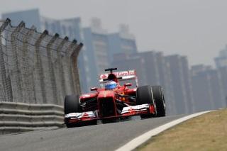 © Ferrari - Alonso à l'aise sur la piste de Bahreïn