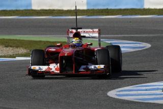 © Ferrari - Massa s'illustre ce matin