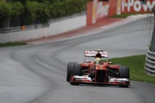 © Ferrari - Massa s'est encore mis dans le mur !
