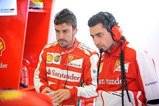 © Ferrari : Fernando Alonso sait que la performance en qualifications n'est pas au niveau dans sa F138
