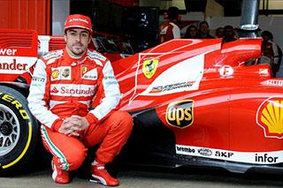 © Ferrari - Alonso s'expose à Madrid