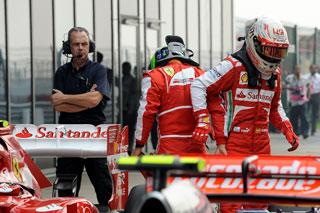 © Ferrari - Felipe Massa s'apprête à tourner le dos à Ferrari