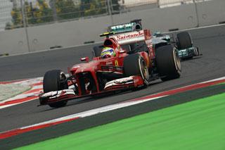 © Ferrari / Massa n'a pas pu résister face à Rosberg aujourd'hui. Il faudra faire mieux lors des trois prochains GP...