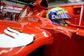 © Ferrari : Felipe Massa sait qu'il peut compter sur une monoplace rapide en course