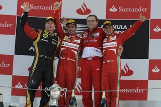 © Ferrari - Selon Alonso, Massa serait aussi rapide que Raikkonen