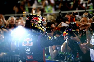 © GEPA - Vettel éblouissant