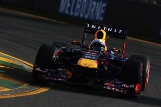 © GEPA - Vettel n'a pu faire mieux que la 3ème place à l'arrivée à Melbourne
