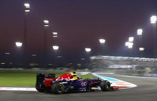 © Getty - Webber a signé la pole pour un première ligne 100% Red Bull