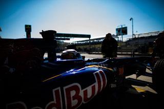 © Getty / Daniil Kvyat pour la première fois dans la Toro Rosso